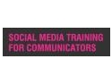 social media training. Comunicarea in social media – training dedicat specialistilor in relatii publice