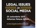 cadru legal. Afla ce obligatii legale are compania in utilizarea retelelor sociale la Legal Issues in SocialMedia