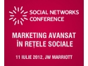 marketing in retele sociale. Intalneste-te cu specialisti internationali in marketing in retelele sociale la Social Networks Conference