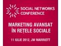 conference. Intalneste-te cu specialisti internationali in marketing in retelele sociale la Social Networks Conference