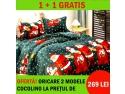 Ai lenjerii de pat Craciun pentru toata familia! www bebecarucior ro