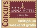 Printr-o simpla inscriere la newsletter poti castiga un weekend in doi la Hotel Anna din Targu Jiu!