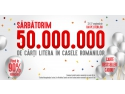 Sarbatorim 50 de milioane de carti in casele romanilor. Hai pe litera.ro