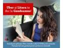litera m. Litera si Uber te duc gratuit la Gaudeamus
