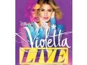 Protagonista cărților Violetta vine în București