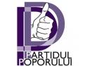 casa poporului. Conferinta de presa al Partidului Poporului, filiala Cluj.