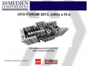 "Indaco Systems vă invită la ""Chief Financial Officer's Forum 2013"""