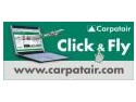 pay per click. Carpatair - Click and Fly