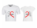 Set tricouri de cuplu