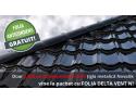 Promoție acoperișuri Novatik: GRATUIT folia anticondens Delta-Vent N, până la 30 septembrie arsenal londra
