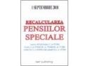 Cartea RECALCULAREA PENSIILOR SPECIALE, ediţia I