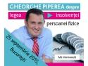 Gheorghe Piperea despre legea insolventei persoanei fizice
