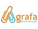 agrafa. Agrafa Print Services – creşteri spectaculoase înregistrate de toate categoriile de produse.