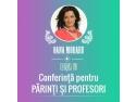 """""""Echilibru și armonie când avem copii?"""" - al șaselea eveniment de parenting desfășurat la Tîrgu-Mureș"""