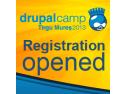 targ noiembrie 2013. Pe 2 și 3 noiembrie, Tîrgu-Mureşul găzduieşte Drupalcamp 2013, una dintre cele mai mari întruniri din Europa a specialiştilor în programare web