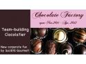 figurine ciocolata. Team building cu ciocolata- Fabrica de Ciocolata