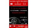 premiere league. Numeroase premiere nationale si cele mai recente modele auto venite direct de la Paris va asteapta la Salonul Auto Bucuresti & Accesorii 2014!