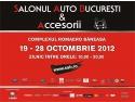 SAB 2012. Peste 19 premiere nationale si cele mai recente modele auto venite direct de la Paris va asteapta la Salonul Auto Bucuresti si Accesorii 2012.