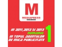 Numarul 1 in topul agentiilor de mica publicitate in anii 2011, 2012 si 2013