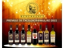 burse de excelență. Budureasca a obținut 6 medalii de aur și 2 de argint la Premiile de Excelență Vinul.ro 2015