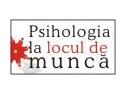 Psihologia si resursele umane se intalnesc la Psihologia la locul de munca