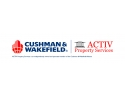 More Real Estate Services. activ property services, partener cushman & wakefield