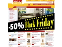 50%. Black Friday 2012 la TargulDeMobila