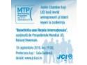 JCI Lugoj. JCI Iaşi organizează 2 Conferinţe cu deschidere internaţională