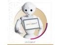 Robotul umanoid Pepper la Unident Group