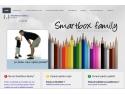 Smartbox. LANSAM o noua sectiune a site-ului www.smartboxfamily.ro :