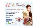 targ promotii august. Gift & Sweets Expo - Targ de Cadouri si dulciuri - City Park Mall Constanta