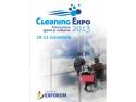 Cleaning. CLEANING EXPO 2013 – totul pentru igienă și curățenie