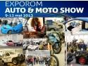 exporom. Dam startul la cea de-a doua editie a EXPOROM Auto&Moto Show, pe 9 mai 2013!