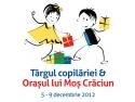 Votează Moș Crăciun între 5 și 9 decembrie  la Târgul Copilăriei