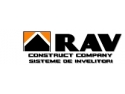 acoperisuri. Logo Rav Construct Company Srl.