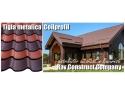 acoperisuri. Tigla metalica Coilprofil - Distribuitor autorizat in Bucuresti