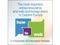 conferinta regionala. Prima zi How To Web 2010 – Cea mai importanta conferinta regionala de antreprenoriat si tehnologie web din Europa de Est
