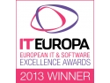INSOFT finalista European IT Excellence Awards 2012. Logo Winner - European IT & Software Excellence Awards 2013