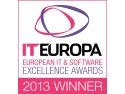 Logo Winner - European IT & Software Excellence Awards 2013