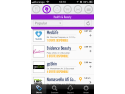 mobile marketing. Wallet Buzz screenshot - Health & Beauty