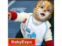Competitia bebelusilor care merg de-a busilea, la BABY EXPO !