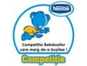 Competitia Bebelusilor. Competitia bebelusilor care merg de-a busilea la BABY EXPO !