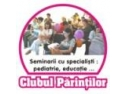 workshop parinti. Clubul Parintilor, la BABY EXPO