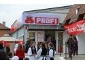 presedinte prof  drd  Catalina Constantinovici. Deschiderea magazinului PROFI din Brasov, Piata Garii nr.6