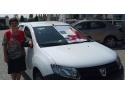 profi. Dana Turt - castigatoarea primei masini din campania CSR Profi 2014