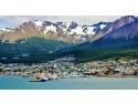 Ushuaia, cea mai sudica asezare din lume, aflata doar la 1000 de km de Antarctica