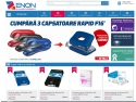 tabla zincata cutata. Aparitia magazinului online Zenon.ro pe piata produselor de papetarie si birotica.