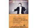 radu balanescu. Orchesra Simfonică București și Radu Gheorghe prezintă