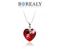 Ultimele tendinte de Valentine's Day: Bijuterii Borealy cu Cristale Swarovski si trandafiri aur 24k!