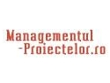 Masterat in Managementul proiectelor. Specialisti in Managementul Proiectelor